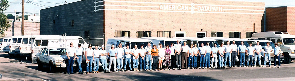 American Datapath employees circa 1980